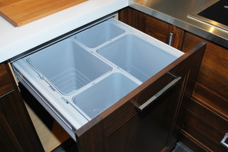in idea houzz kitchen wood center medium toronto with sink transitional undermount tone an recycling floor