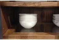 Glass insert Shelves