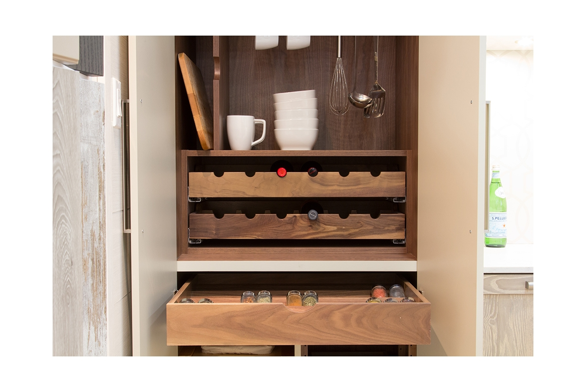Wine Storage Drawers Cuisines Laurier