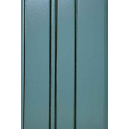 Colonial blue w/glaze black